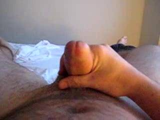 Lying back having a well deserved wank....I love it!  How about you?  Did you like it too?