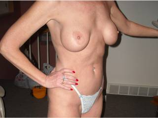 I WANNA FUCK THOSE TITS AND HAVE MY WIFE LICK MY CUM OFF OF THEM !!!!!!  WILL U LET MY WIFE EAT YOUR PUSSY ???  WILL U EAT HER PUSSY ???