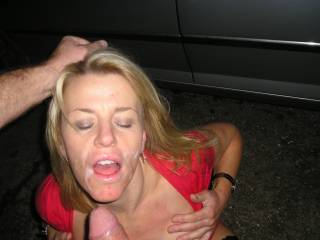Another facial, She looks amazing soaked in my cum, Don\'t you think ? hope you like.