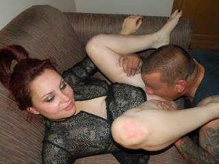A full and total treat to see you spreading your legs like that when a friend comes over to let him kiss and feast on your pussy and rich tasty juices, girl. What a great way to give the best you. You're hot and amazing. It always great to make that eye contact when you get your pussy eaten. Mmmmmmhhhh!..