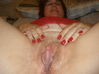 Mmm so wet I would bury my face in your hot pussy so it was full of your juice an then lick and suck u until u made me quit.