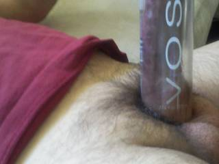 I love pumping my cock! Next time you see this water bottle - you\'ll think of me :)