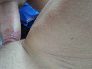After a handjob and bj-I stuck it in Theresa's shaved tight pussy