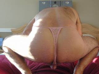 Love those knickers on your sexy ass.
