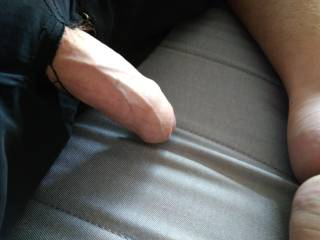 What happens when your cock and balls get bigger, they tear your shorts wanting to be exposed lol