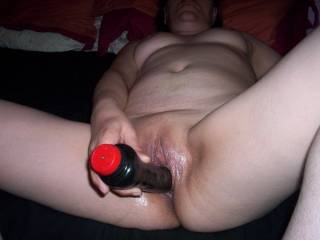 Can we replace that dildo or can I use other holes.....would love to watch atleast