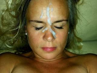 Thick facial milf