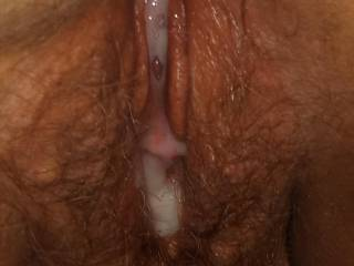 Get your tongue up in there