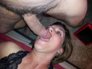 Lovely will MILF cock sucker with a great ass. Who could ask for more fun that that?