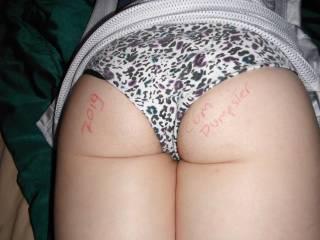 My sexy wife has that same pair of panties ..............