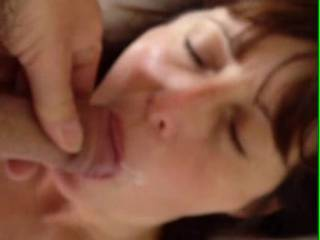 Not posted in a while, sorry. But had to share this, just love sucking cock! Love the feeling of Mr Hussy fucking my mouth, feeling the cum build and swell until it explodes over me. I still want to try it with 2 cocks, where shall we start looking, any a