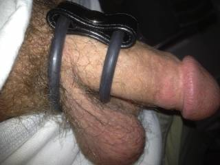 double cockring for pleasure
