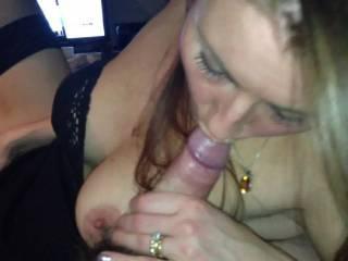 horny girlfriend enjoying cock