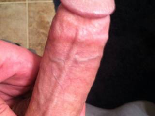 would love to see it up close and service that thick meat log you got big man!!