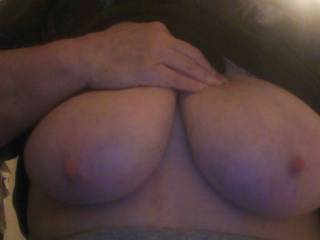 I'd love to suck on your beautiful tits mmm