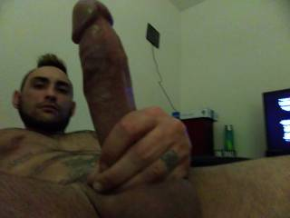 Dick hard waiting to be rode
