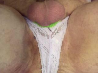 Wearing my favorite panties