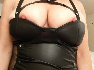 Leather Lingerie