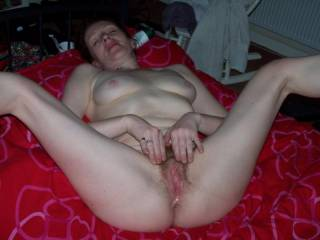 I would!!!fuck your horny cunt have you wriggling on my cock with your muilti cums dripping out your hole when I,m ready I,ll shoot my load over your tits and face you can suck my cock clean