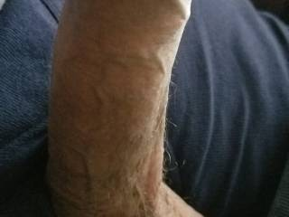 Stroking my cock and need to cum