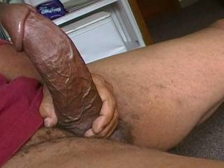 a very thick dick