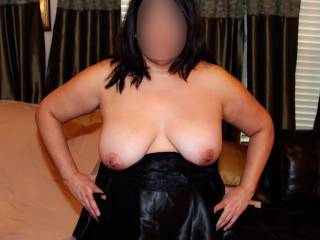 Sexy lingerie and my big tits!