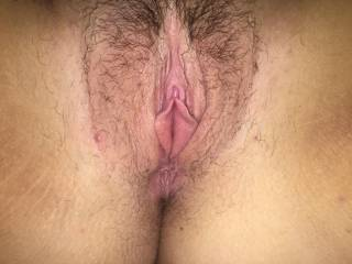 Misses pussy spread wide open