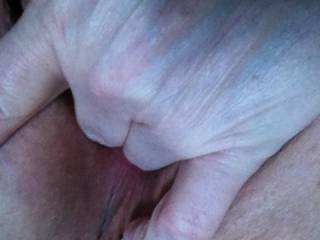 Oh I would just love slide my thick hard cock deep into that beautiful pussy of yours.