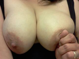 Bet a nice warm load of my cum on those would feel good on ya...;)