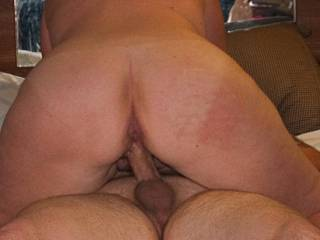 blew a huge nut after a HOT session ... look how tight the balls are
