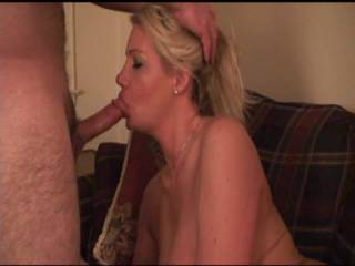 omFg. wow u can tell this woman enjoys pleasing her man. great mouth skills. she enjoys the feeling of a throbbing man stick in her hot mouth. u can tell by the suction and massage technique she is using on her man's swollen prick. she wants u to now she is sucking hard on this cock and that all men who like what they c should enjoy it also. yes and i mean this in a complimented way this woman is a cocksucker of the highest honor with a talented mouth and lustful desire to make a man feel like a man. all she needs now is hey man to return the favorite and suck her juicy pussy and taste the nectar of the hot honey hole. u r fukin awesome like to plant a seed in her mouth also. ty ty tyt ty