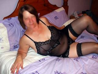 im always horny when I see you dressed is that sexy lingerie