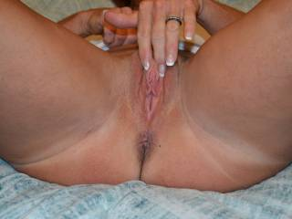 Love to feel your mrs thighs against my face as I lick that sweet pussy