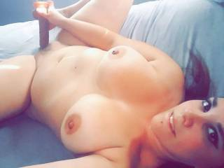 Horny Nicky is a bad ass bitch weather she is on her back, pussy spread, legs up and toes curling or she is face down ass up and is always a good fuck with her loud moans and tight pussy it\'s hard not to explode. If that doesnt get you those big natural b