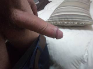 Hard and ready for sex then shower