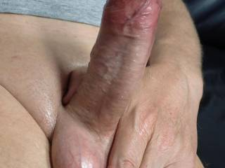 Another photoshoot for cum. She loves to watch me play with my cock and to take photos. Watching me stroke it, use sex toys, and to see me cum. If you like CFNM then let\'s chat.