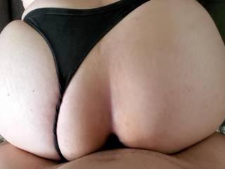 Black or white thong? Or does it matter?