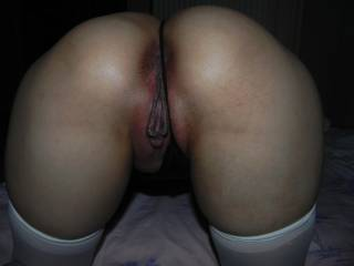 sitting up ready for cock