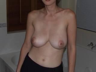 Check out my sexy tits, u like?