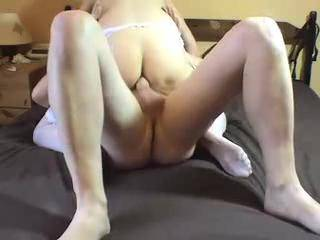 Carrying on where we left off, she's riding my cock with her pussy, then with her ass and then when I'm going to cum she turns round and sucks me till I do....  Say hi if you liked the series, tell us what to do better if you didn't :-)