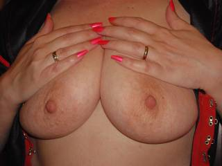 WHERE WOULD YOU PUT YOUR BEAUTIFUL HANDS, WHEN I KISS THOSE SWEET BREASTS?