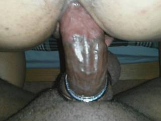 Trying my new cock ring out while burying it deep in my tight hot wife.