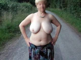 Id love the pleasure of those big beautiful tits of yours