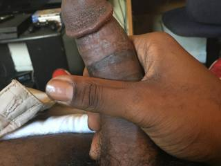 My black cock needs to be sucked... Any takers?