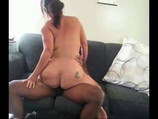 Part 2 of me riding hubby.  He love feeling of my tight little pussy going up and down his shaft as I bounce my ass on him.  What do you think?  Anyone like what they see and want a go with me?  Please vote and leave comments.