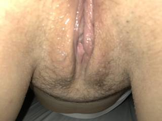 My wet pussy waiting for a nice big hard cock