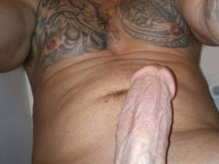 Just a plain old hard cock