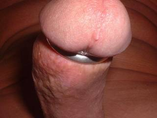 Love the tight ring around the base of my cock head.