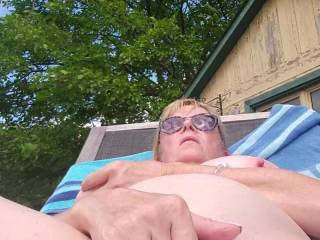 Mrs Ikpm making herself.cum hard to start our vacation looking forward to it\'s of new content this week and all your comments. Hopefully our housemates help us out by doing some filming for us😁