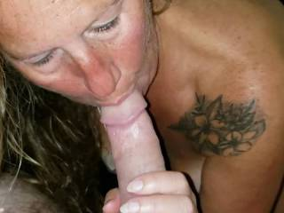 Another video of me, that hot, sexy, naughty milf sucking a nice cock. If I could suck a cock every day I would. Would you make me so yours?